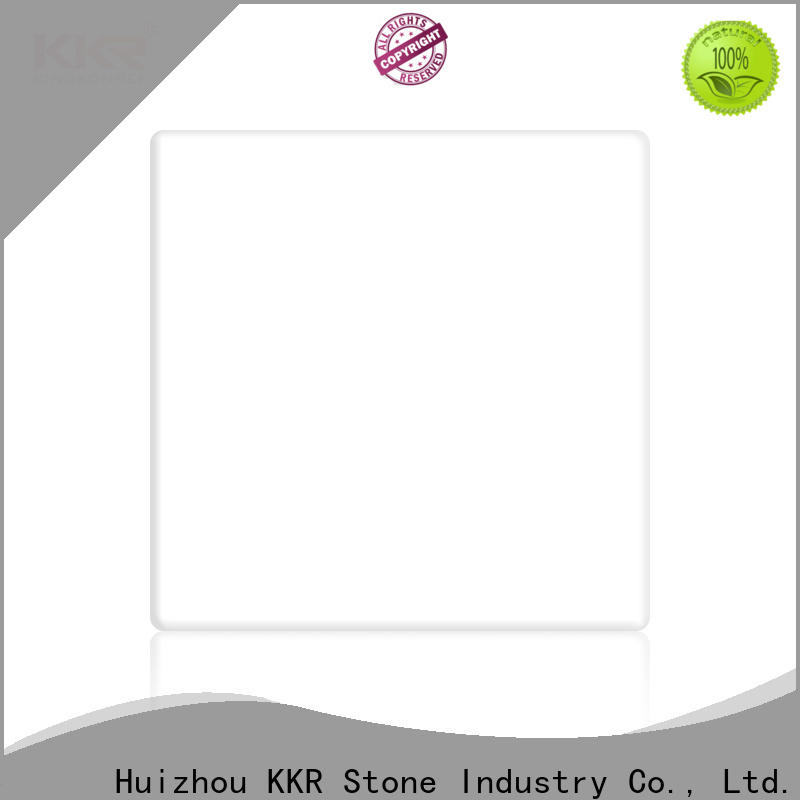 KKR Stone anti-pollution modified acrylic solid surface superior chemical resistance for bar table