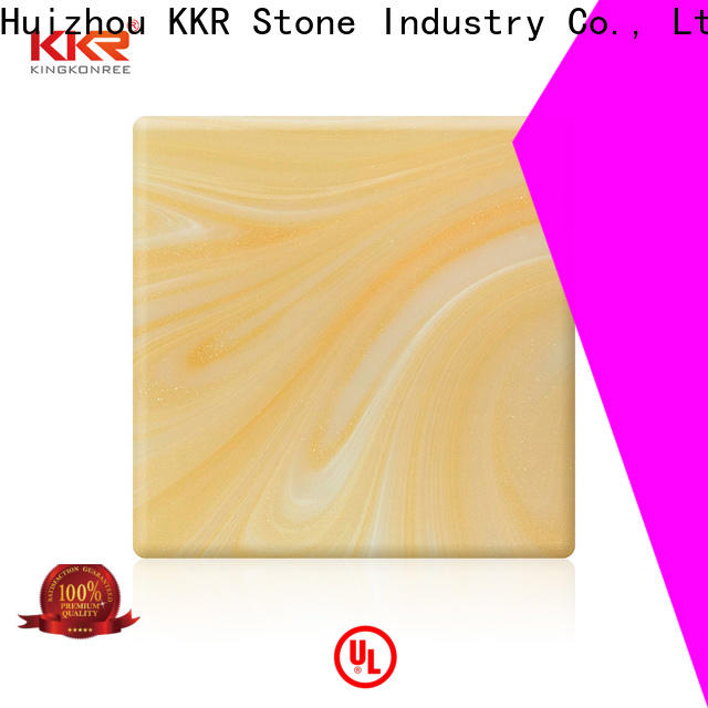luxury translucent resin panel surface with good price furniture set