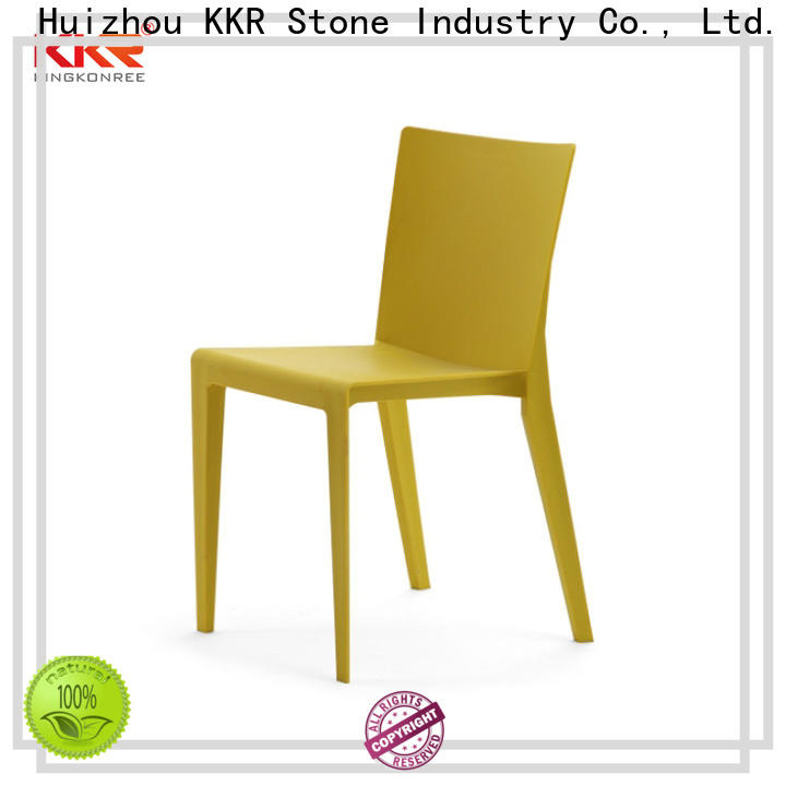 KKR Stone easily repairable plastic chairs for sale price
