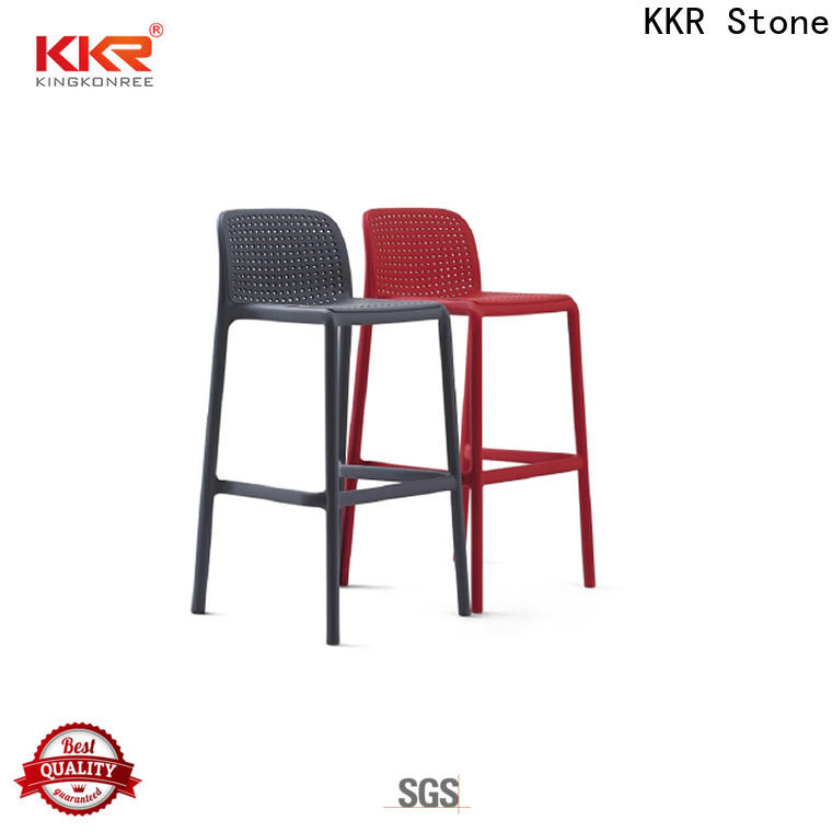 KKR Stone colorful cheap plastic chairs price for kitchen