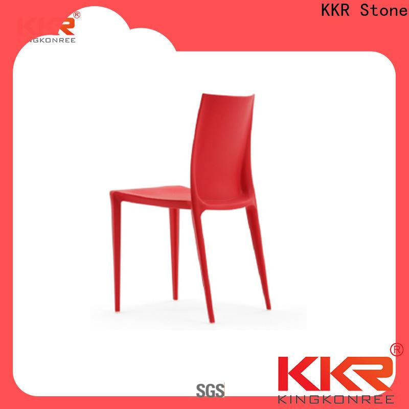 KKR Stone renewable cheap plastic chairs supplier