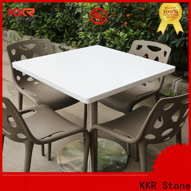 KKR Stone solid surface bar tops