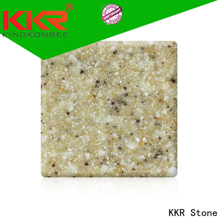 KKR Stone soild solid surface factory superior stain for garden table