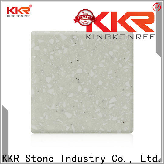 KKR Stone artificial modified acrylic solid surface superior chemical resistance for building