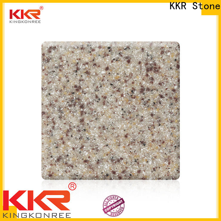 KKR Stone renewable solid surface acrylics superior stain for self-taught