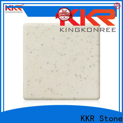 KKR Stone sheets modified solid surface superior bacteria for garden table