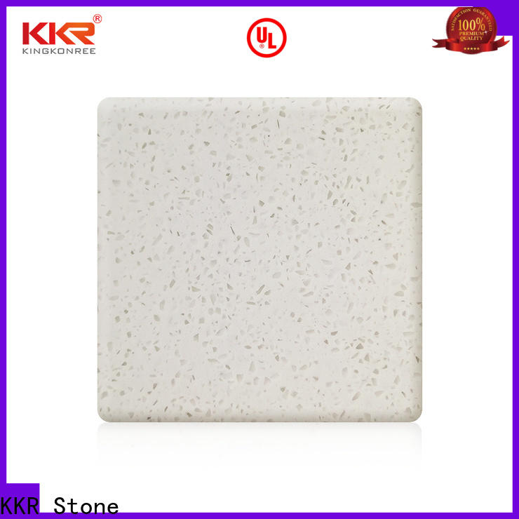 KKR Stone sheets modified solid surface superior stain for garden table