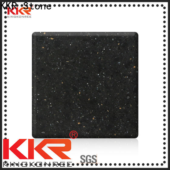 KKR Stone colorful solid surface acrylics superior stain for kitchen tops