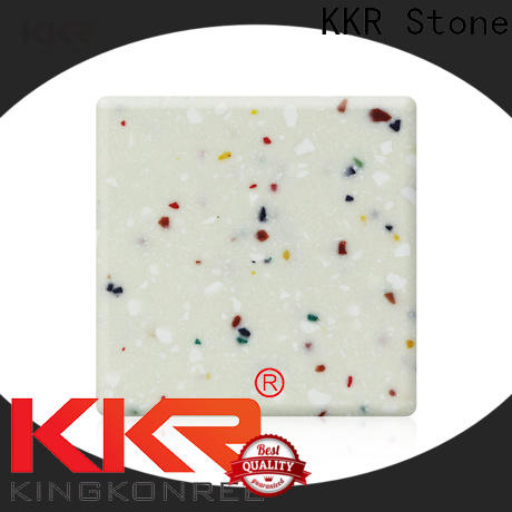KKR Stone kkrm1645 modified acrylic solid surface superior chemical resistance for kitchen tops