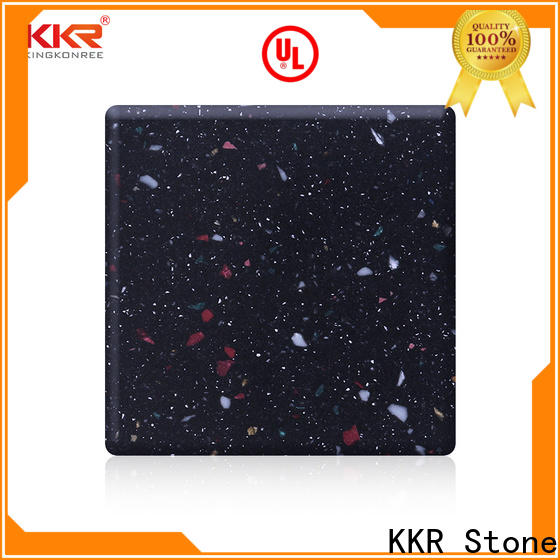 KKR Stone colorful solid surface acrylics superior stain for worktops