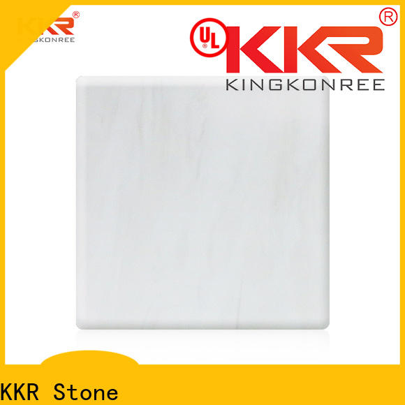 KKR Stone modified veining pattern solid surface supply for entertainment