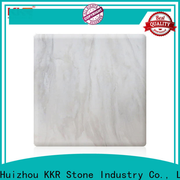 KKR Stone radiation free veining pattern solid surface in good performance for home