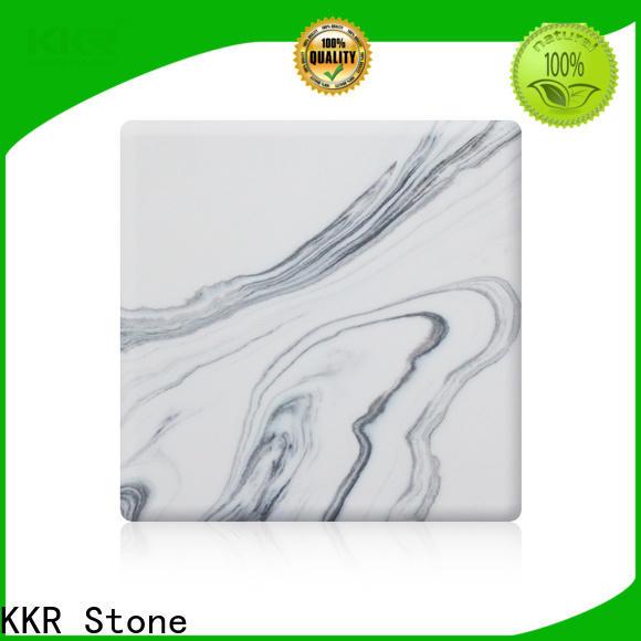 KKR Stone pollution free solid surface slab vendor for home
