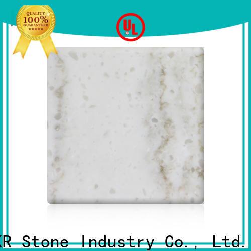 KKR Stone sheet solid surface slab manufacturer for school building