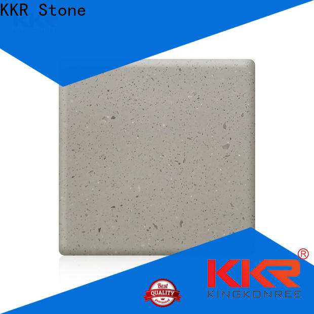 KKR Stone high-quality acrylic solid surface sheets wholesale for shoolbuilding