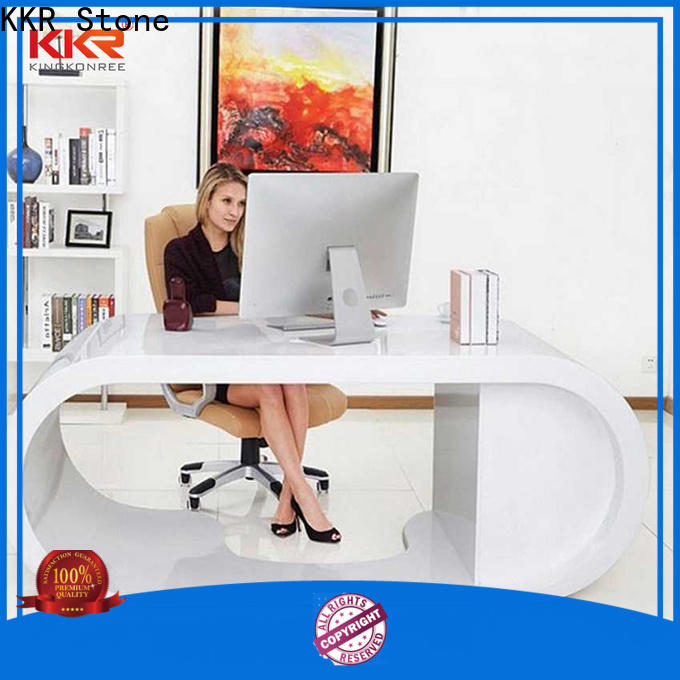 KKR Stone acrylic office furniture long-term-use for worktops