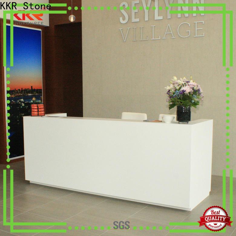 lassic style reception desk countertop design for entertainment