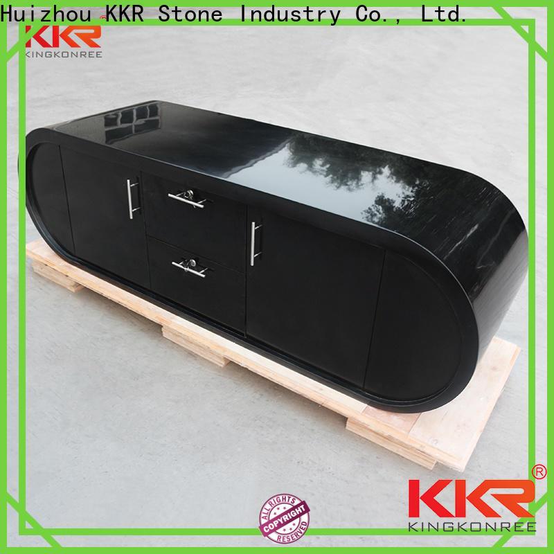 KKR Stone shape reception desk countertop for entertainment