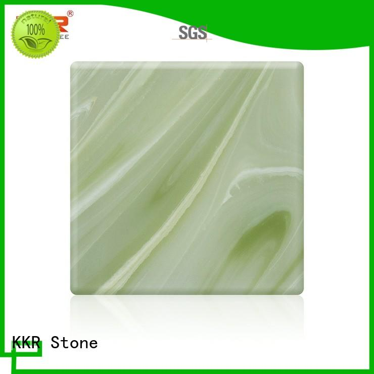 non-radioactive translucent solid surface translucent bulk production for school building