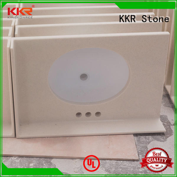 KKR Stone acrylic solid surface countertop long-term-use for kitchen tops