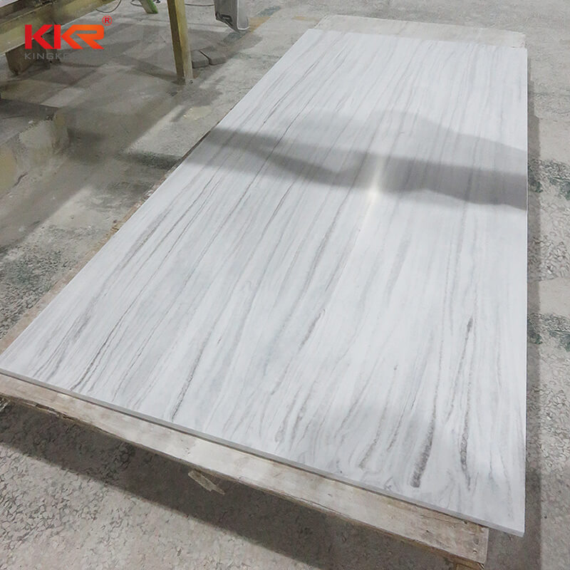 KKR Stone soild marble solid surface effectively for school building-2