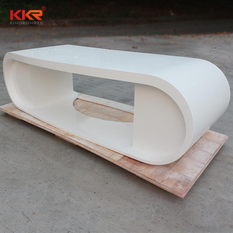 Fashion Design Arcylic Solid Surface Reception & Office Desk KKR-RC10
