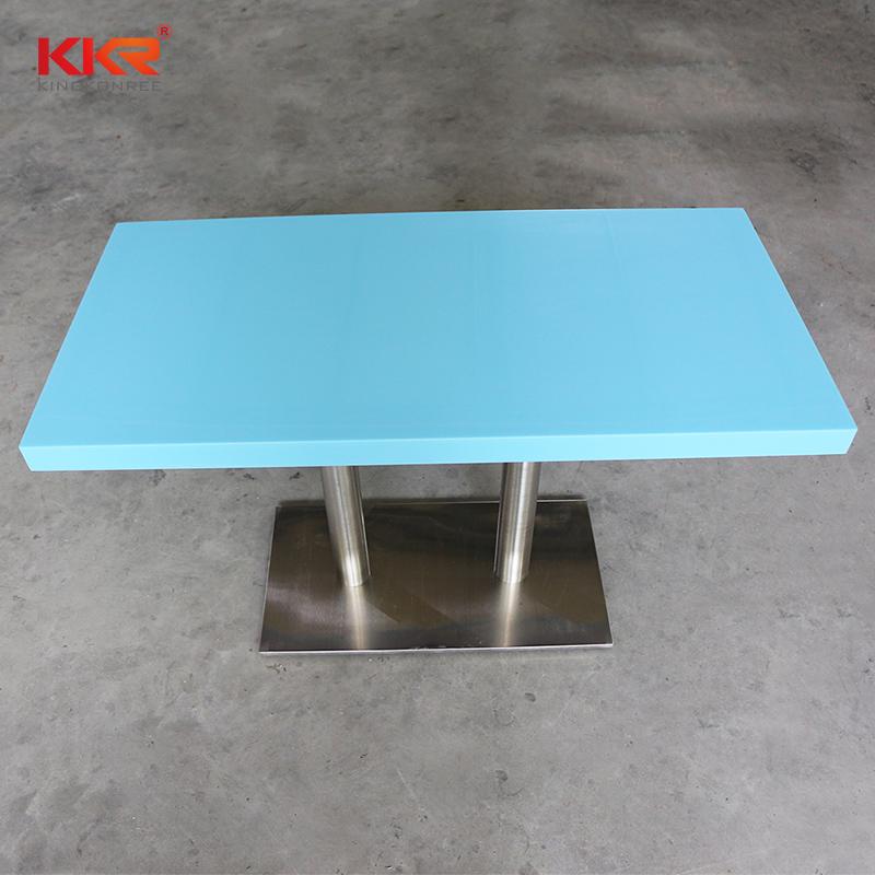 KKR Stone surface wall mounted bar countertop-2