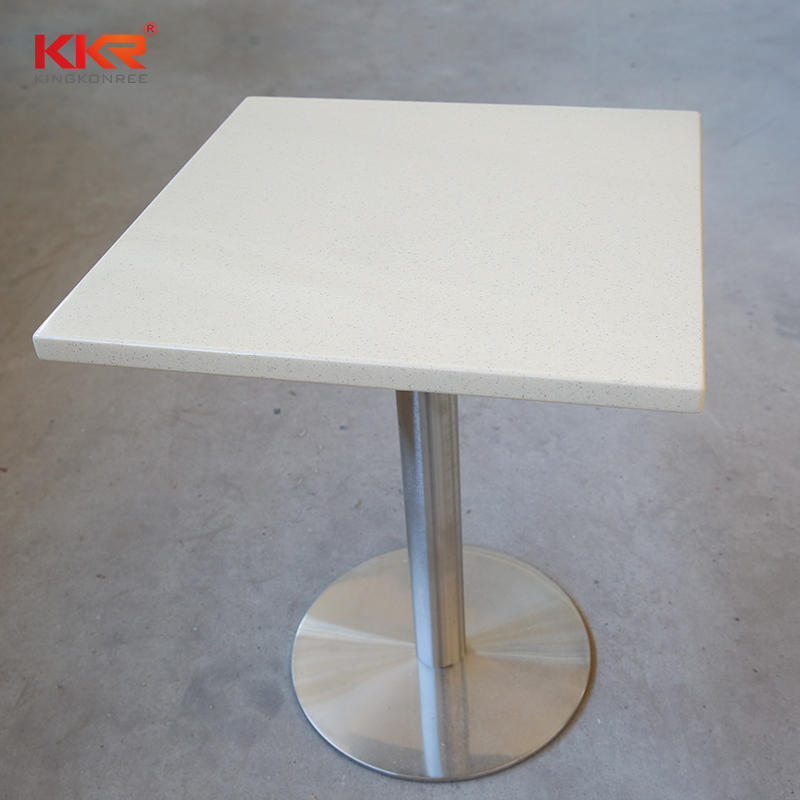 Square Acrlic Solid Surface Table-3