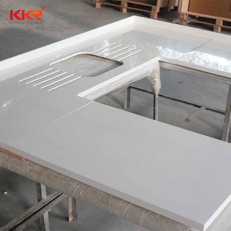 KKR Stone solid kitchen countertops furniture set-2