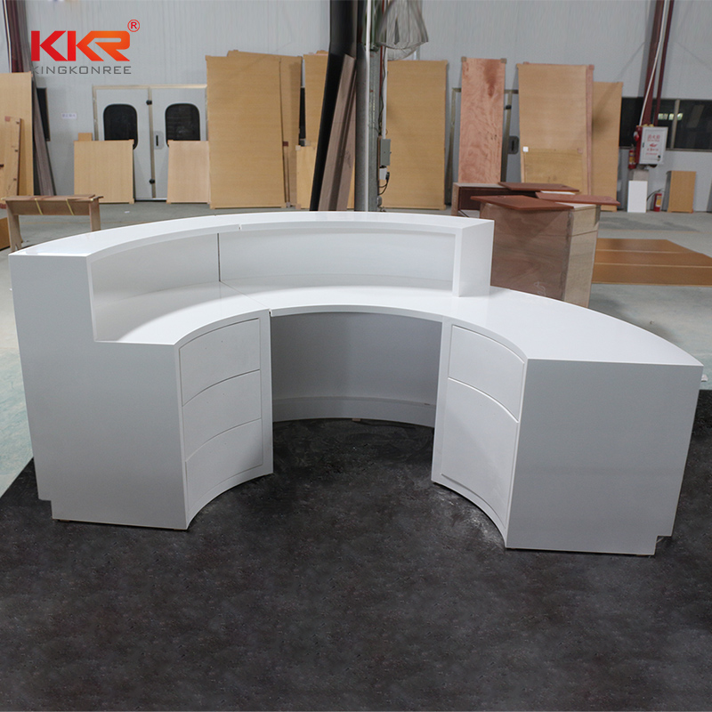 KKR Stone acrylic solid surface worktops long-term-use for kitchen tops-2