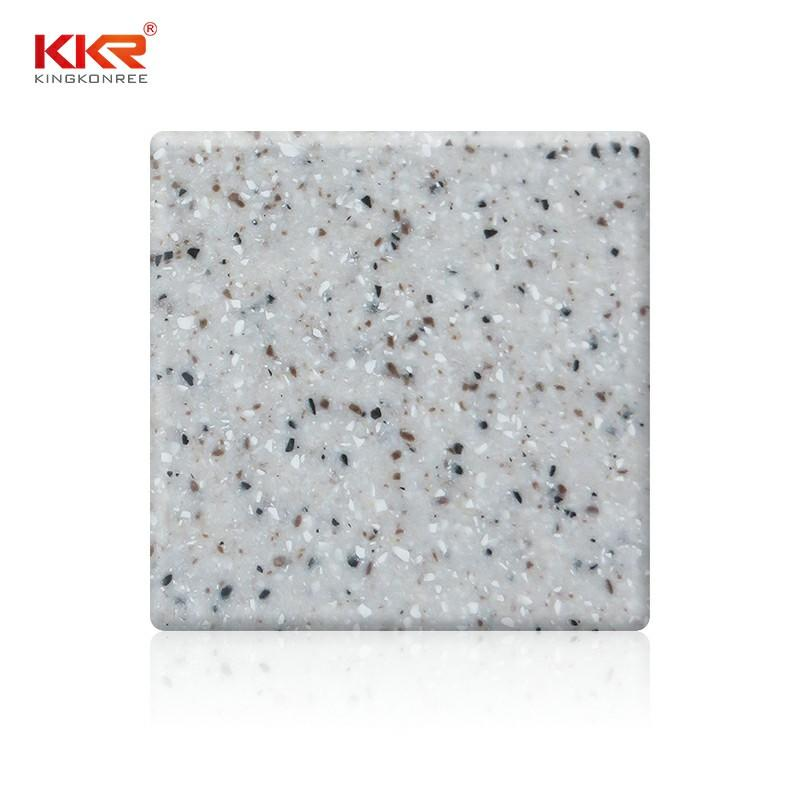 Small Chips Grey 100% Pure acrylic solid surface sheet KKR-M2601