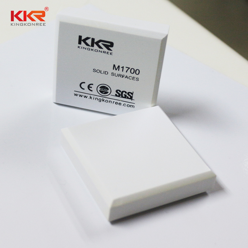 KKR Stone anti-pollution modified acrylic solid surface superior chemical resistance for bar table-2