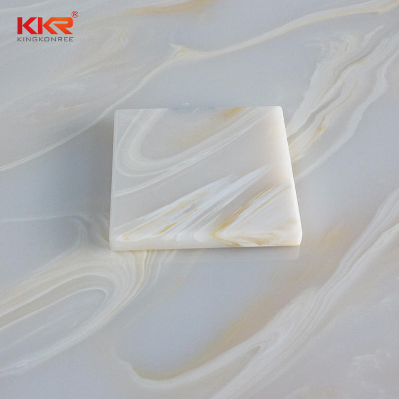 High Quality Translucent Solid Surface Sheets KKR – A025