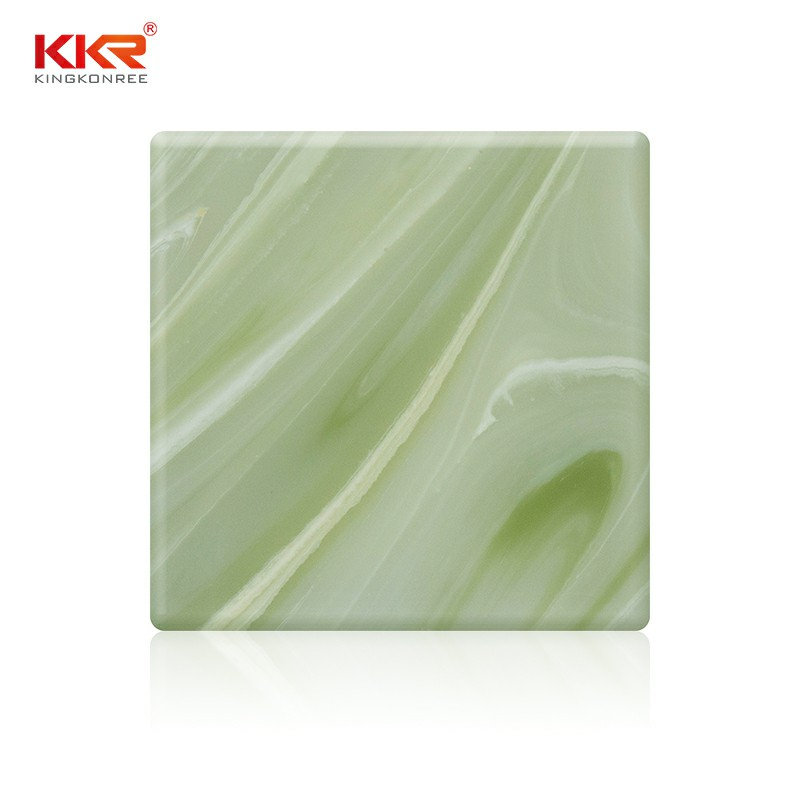 non-radioactive translucent solid surface translucent bulk production for school building-1