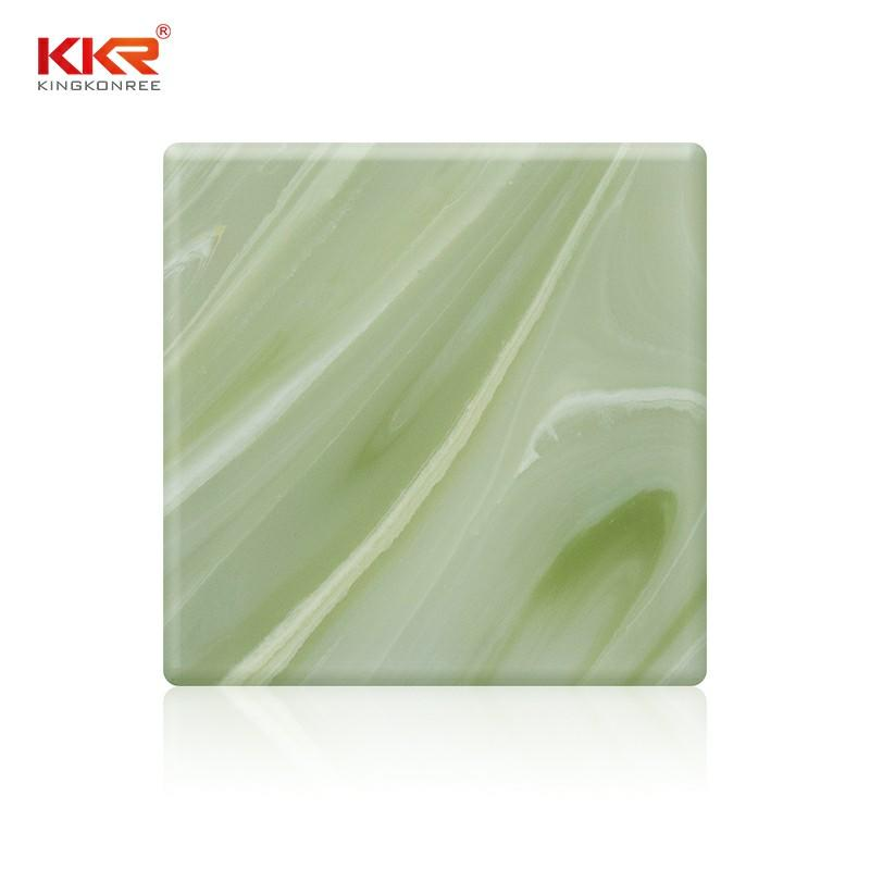 Artificial Stone Translucent Solid Surface Sheets KKR-A026