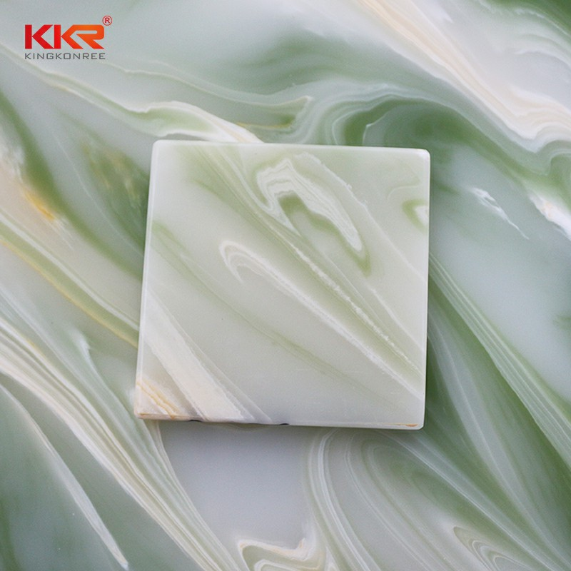non-radioactive translucent solid surface translucent bulk production for school building-2