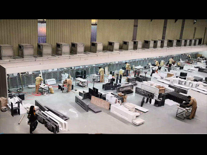 Solid Surface Countertops process workshop video