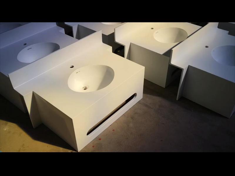 Bathroom vanity top Video