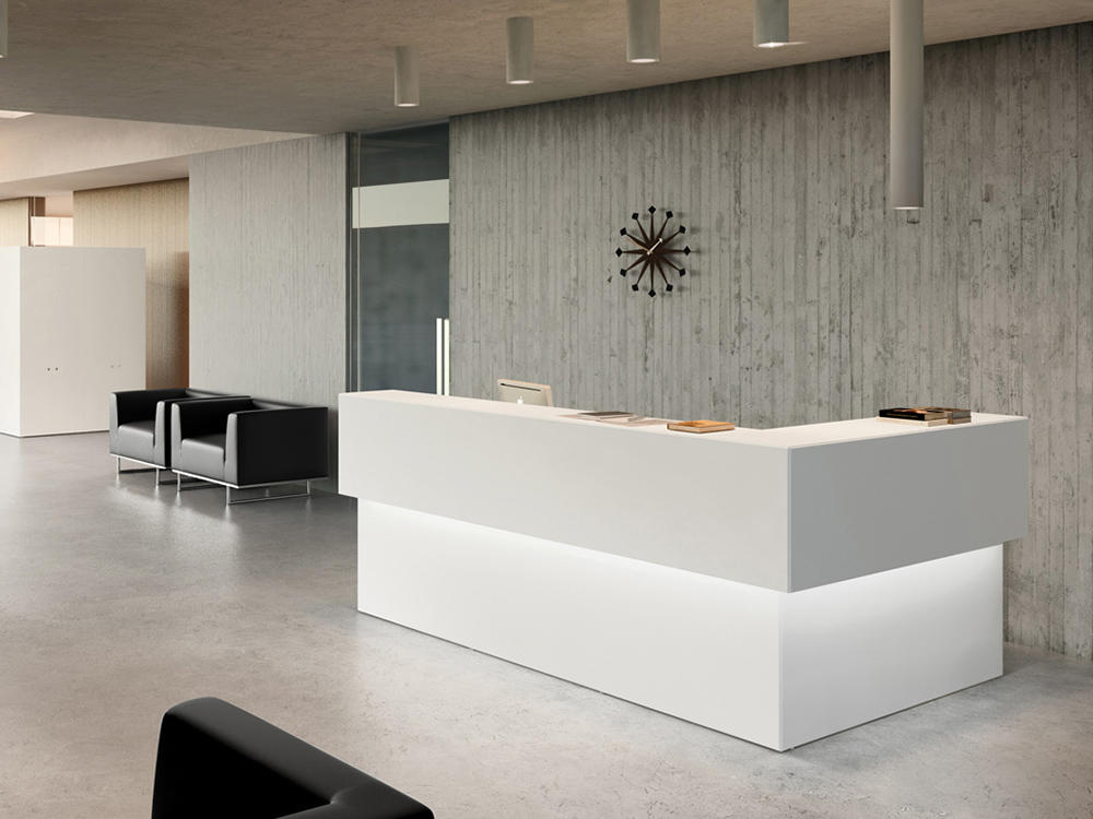 uBank Dubai Reception Desk