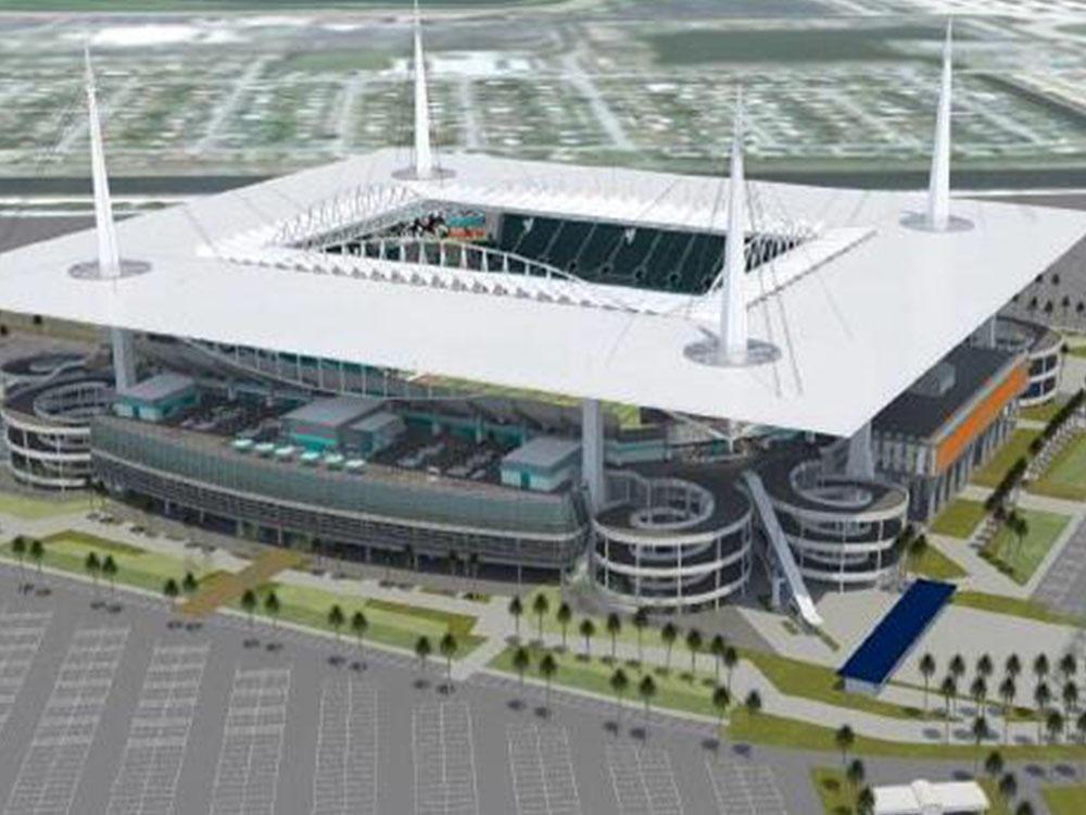 Miami Dolphins, Centerplate, Hard Rock Stadium