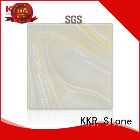 KKR Stone quality solid surface material free design for early education