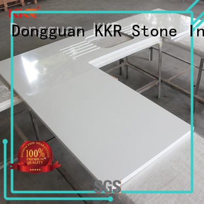 KKR Stone kitchen quartz countertops for wholesale for shoolbuilding