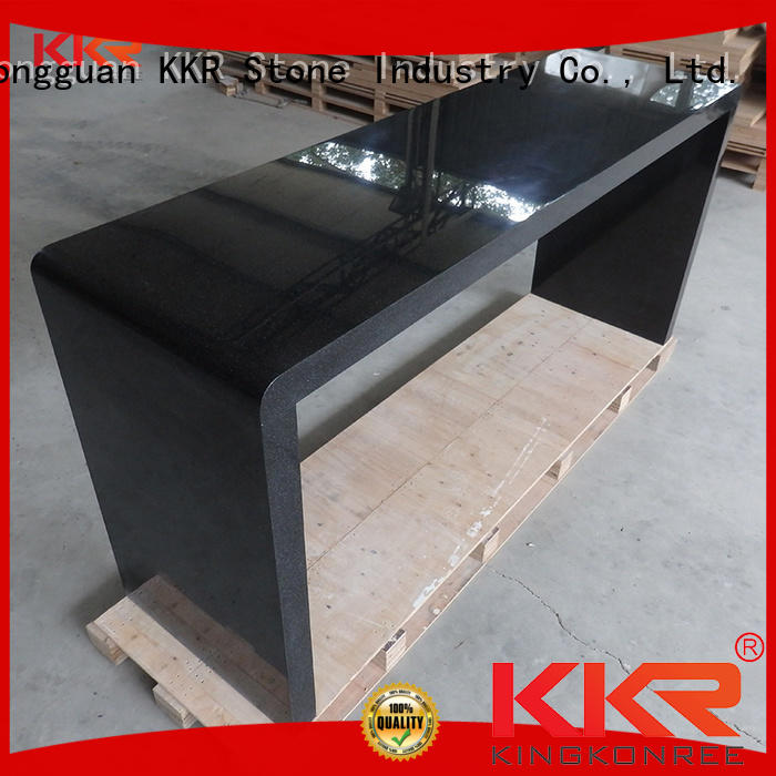 KKR Stone solid surface table top acrylic