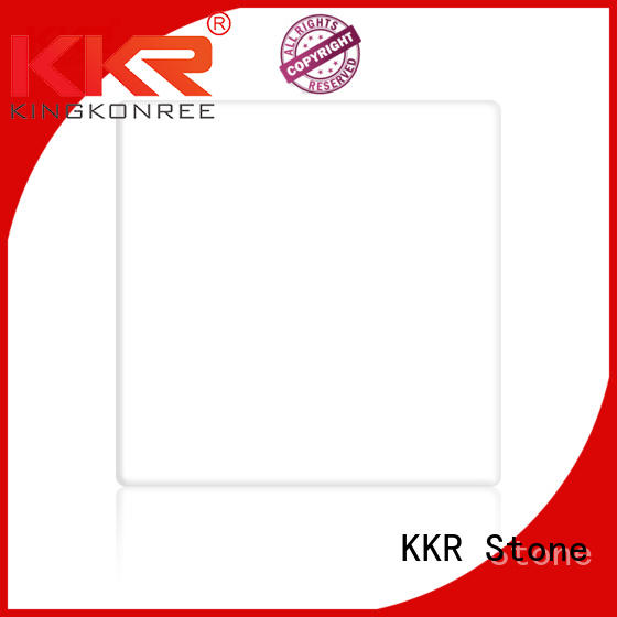 KKR Stone artificial solid surface acrylics superior chemical resistance for garden table