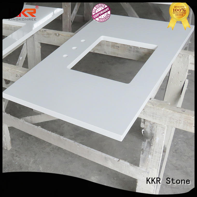 KKR Stone quality acrylic countertops vendor for early education