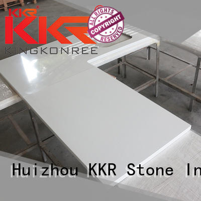 KKR Stone solid wholesale kitchen countertops at discount for garden table
