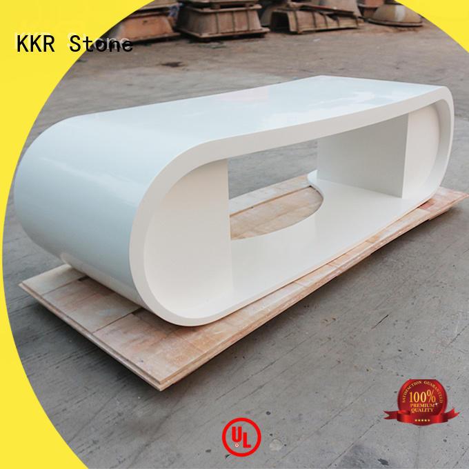 KKR Stone custom-made reception desk countertop vendor for early education