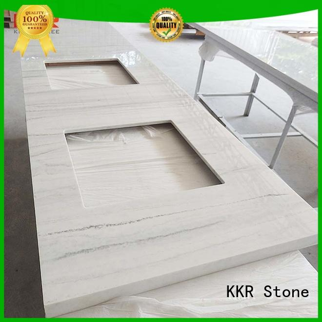 KKR Stone custom-made bathroom countertops certifications for worktops
