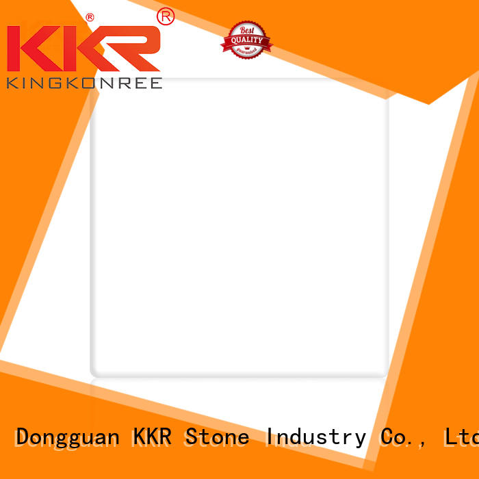 KKR Stone sparkle modified acrylic solid surface superior stain for building