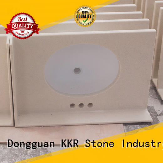 KKR Stone pattern bathroom vanity vendor for kitchen tops
